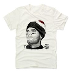 Men's Tom Brady Beanie R Premium T-Shirt from 500 LEVEL. This Tom Brady Premium T-Shirt comes in multiple sizes and colors.