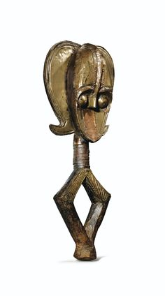 Kota Bwete (Reliquary Guardian Figure), Ndasa, Gabon