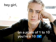 hey girl, on a scale of 1 to 10, you're a 10 +1 http://searchengineland.com/googles-results-get-more-personal-with-search-plus-your-world-107285