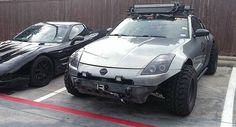 There's Nothing Wrong With This Off-Roading Nissan 350Z #Nissan #Nissan_350Z