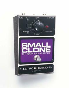 Electro-Harmonix Small Clone Chorus Pedal by Electro-Harmonix. $88.50. Save 25%!