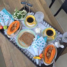 Bandeja de Café da Manhã para o marido