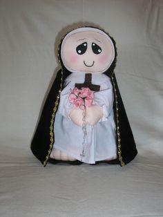 Santa Terezinha  em tecido BR$30