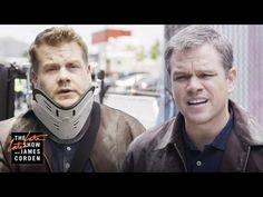 Matt Damon Tricks James Corden Into Being His Stunt Double in the New Jason Bourne Film