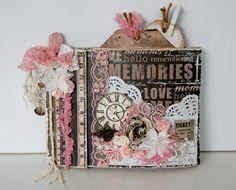Paper bag mini album By: IngridG