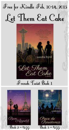 book worth, sandra byrd, food, twist seri, french twist, eat cake, beverag booknerd4lif