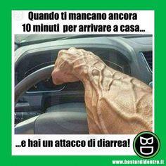 I 10 minuti più lunghi della vita di un uomo! #bastardidentro #bagno #tempo www.bastardidentro.it