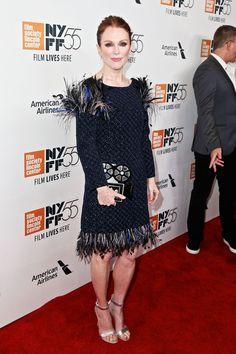 Julianne Moore in Chanel - 'Wonderstruck' Premiere, New York Film Festival - October 7 2017