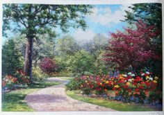 Miles Schaefer Summer Enchantment 2003 Seriolithograph Signed in Plate 128932 in Art, Art from Dealers & Resellers, Prints   eBay