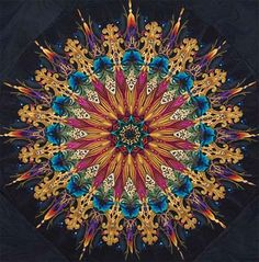 Another of Paula Nadelstern's awesome kaleidoscope quilts