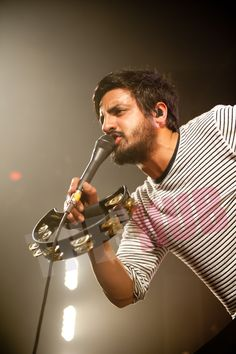 Sameer Gadhia vocalist of Young The Giant.