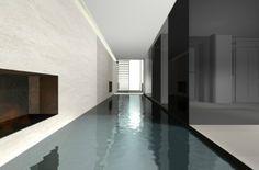 Indoor pool - by architect Vincent Van Duysen _