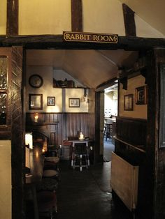 Lewis and Tolkien's favorite spot was the Rabbit Room at the Eagle & Child pub in Oxford. Pub Interior, Interior Architecture, Oxford City, Oxford Pubs, Pub Design, British Pub, Oxford England, English House, Retro