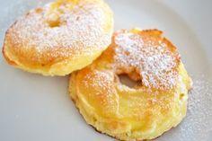 Schnelle gebackene Apfelringe - Rezept