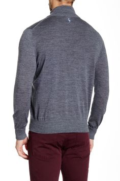 fb8f43a9948c18 TailorByrd - SU Quarter Zip Wool Sweater at Nordstrom Rack. Free Shipping  on orders over