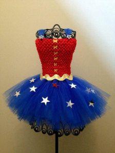 wonder woman little girl costume tutu - Google Search