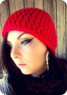 ALL SIZES Chunky Beanie by EternalLightShop on Etsy, $22.00