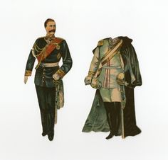 86.3114: Kaiser Wilhelm | paper doll | Paper Dolls | Dolls | National Museum of Play Online Collections | The Strong
