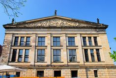 Schauspielhaus, Berlin - Schinkel (1821); Südflügel