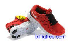 Verkaufen billig damen Nike Free Run 2 Schuhe (Farbe:vamp, innen-rot, Logo, Sohle-weiB) Online in Deutschland.