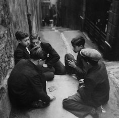 Marseille 1938  Photo: Willy Ronis