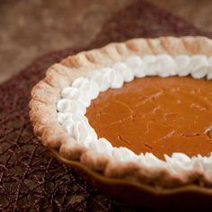 Voluptuous Pumpkin Pie | Post Punk Kitchen | Vegan Baking & Vegan Cooking
