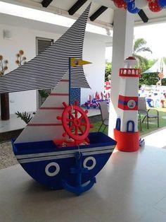 Resultado de imagen para cumpleaños nautico infantil