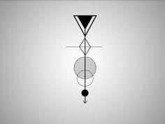 Geometric tattoo design by NicolasMzrd.deviantart.com on @deviantART