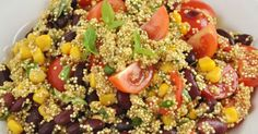 Easy, Tasty And Excellent For You: Super Food Mexican Quinoa Salad