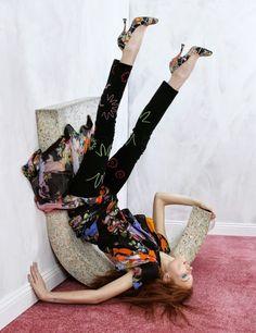 Hilary Blonde: Moda de primavera Defyingn Gravity para la revista Hunger
