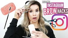 Sylvia Gani, OPEN ME FOR MORE GOOD STUFF! Subscribe Here: https://www.youtube.com/channel/UCp5b...In todays video, I test out some more Instagram beauty hacks, but this time its all about the BROWS! Some of these hacks are so silly and others are surprisingly useful. I hope you guys enjoy! XODont forget to THUMBS UP the video if you LIKE!CALLING AL..., http://ourmall.com/r/73iM3u