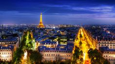 Panoramic View – Paris – France // by Doran Hannes from doranhannes.com
