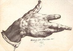 Goltzius's right Hand