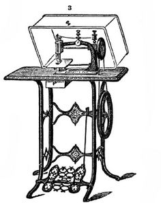 I learned to sew on a treddle machine
