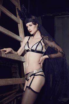 Bordelle SS2015 campaign. Photo Lightaholic aka Catalin Opritescu Model Silvia Giurca