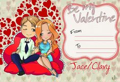 Be my valentine ...  From umkasandiary ... shadowhunters, the mortal instruments, clace, jace herondale, clarisa 'clary' fray