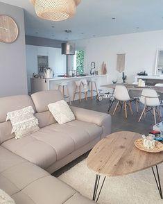 gorgeous living room color schemes to make your room cozy 5 Interior Design Living Room, Living Room Color Schemes, Living Dining Room, Home And Living, Home Living Room, Interior Design, House Interior, Apartment Decor, Home Deco