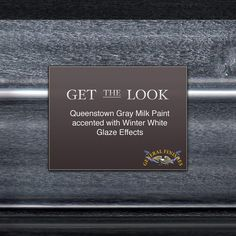 To lighten up a dark gray, try GF's Winter White Glaze Effects. You can find…