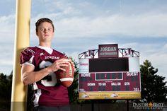 Utah Male Senior Photography Football Player