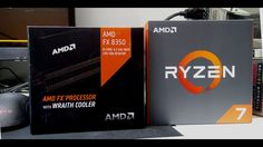 AMD Ryzen 7 1800x and the FX 8350. How Far Did AMD Come?
