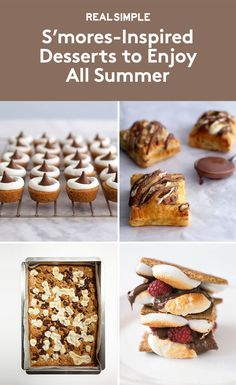 S'mores-Inspired Desserts to Enjoy All Summer | No campfire necessary.