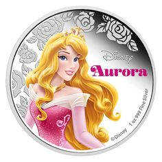 Available in both silver and gold the third coin has now been identified. Thus far the coins are Cinderella, Aurora, and Ariel, hree of the Disney Princesses. Sleeping Beauty is Aurora, Disney Pop, Cute Disney, Disney Mickey, Disney 2015, Disney Stuff, Sleeping Beauty Princess, Disney Sleeping Beauty, Princesse Aurora, Pictures Of Princesses