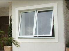 Comparativo esquadria PVC versus vidro temperado