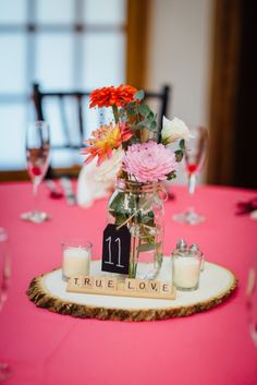 Rustic Pink Wedding