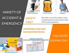 Please see our variety of products including #cast protection #Defibrillators #body #support #Biohazard #Spill #Kits? #disposables #pharmacy #equipment #operations #surgical #aid #Iv #Injections #healthcare #health #nursing #supplies #friday #deals