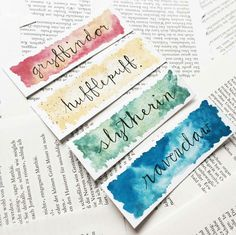 house bookmarks by elisareads Basteln . - house bookmarks by elisareads - Deco Harry Potter, Harry Potter Bookmark, Creative Bookmarks, Diy Bookmarks, Bookmarks Quotes, Bookmark Ideas, Diy Marque Page, Bookmark Printing, Harry Potter Printables