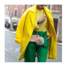 Make a statement this season in bold, bright colours #fashion #ootd #streetstyle #style #womenswear
