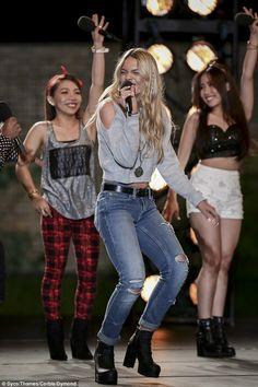 X Factor's Louisa Johnson and 4th Power sail through to next round #dailymail