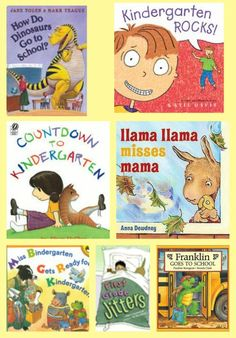 {Back to School Books for Preschool - 1st Grade}  great way to help kids learn about and adjust to a new grade as they head back to school!