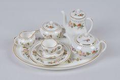 Miniature tea set Wedgwood Mirabelle